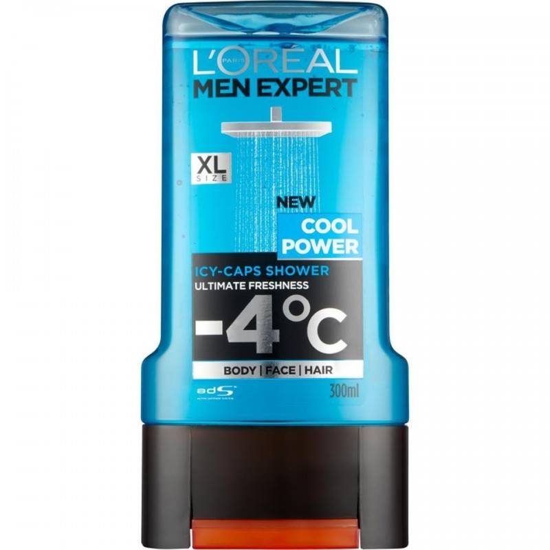 L'Oréal Clean Power żel do kąpieli 300ml